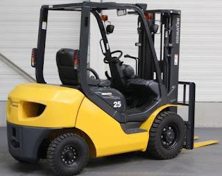 Xe nâng diesel Komatsu 3.5 tấn