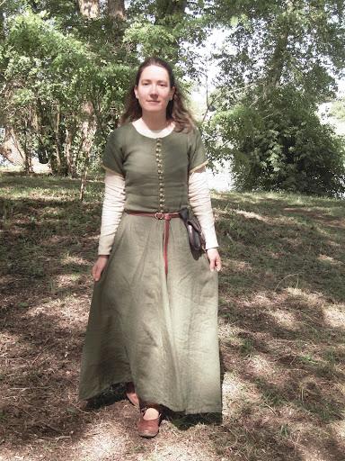 Платье европа 14 век