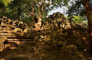 Beng Mealea - ruiny światyni z XII wieku.