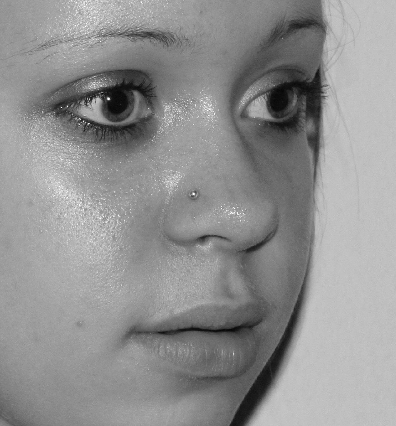 piercing i næsen