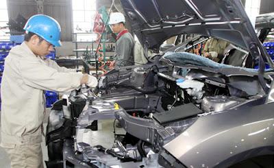 Đơn hàng đóng hộp linh kiện ô tô cần 9 nam thực tập sinh làm việc tại Kansai Nhật Bản tháng 05/2016