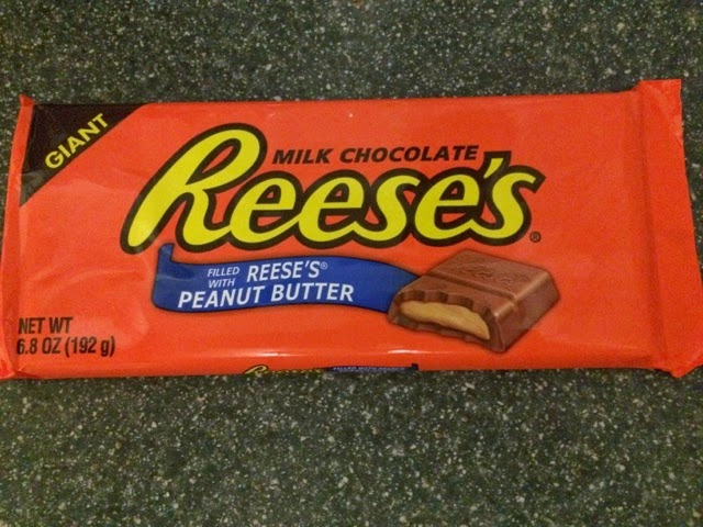 A Review A Day: Today's Review: Reese's Giant Chocolate Bar