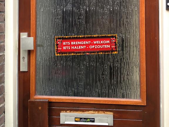 Fun sticker voorbeeld voordeur1