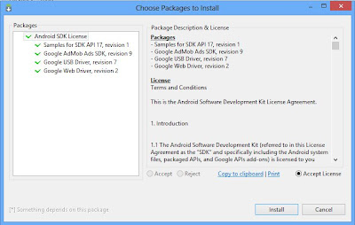 IDE de desarrollo Eclipse y Android SDK ADT Bundle