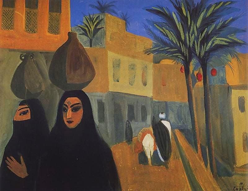 Martiros Saryan - Street in Cairo, 1911
