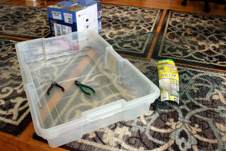 diy rabbit litter box 1