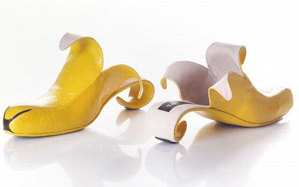 Zapatos con corma de plátano