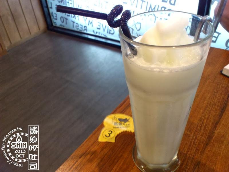 鯊魚咬吐司-「檸檬牛奶冰砂」
