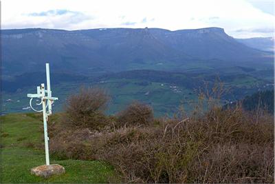 Sierra Garobel desde Beratza