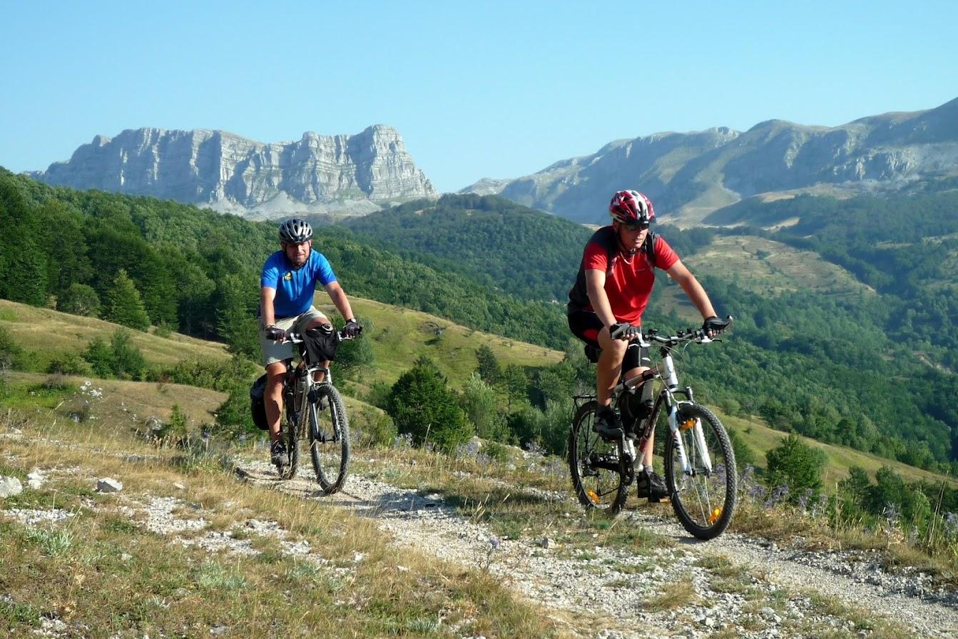 Pohoří Lebršnik a Volujak na kole