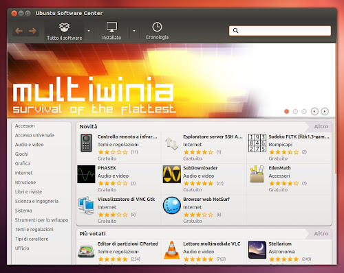 Ubuntu 12.04 - Ubuntu Software Center