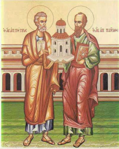 St Nikolai Velimirovich On The Holy Foremost Apostles Peter And Paul