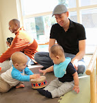 Musical exploration is one of the many experiences babies share as they learn to be around each other socializing in Parent & Child classes at LePort.