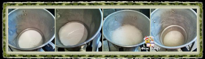 Leite condensado de coco