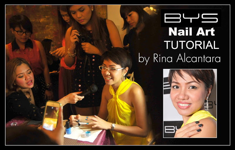 Simply Rins Speaks at the Launch of BYS Glitter for Nails