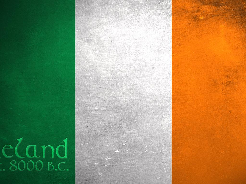 Displaying Images For  Irish Flag Wallpaper