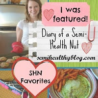 Diary of a Semi-Health Nut