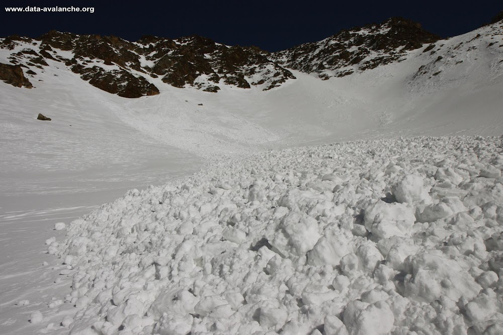 Avalanche Oisans, secteur Aig du Plat de la Selle, Grand Cruex, Soreiller, Saint Christophe en Oisans - Photo 1