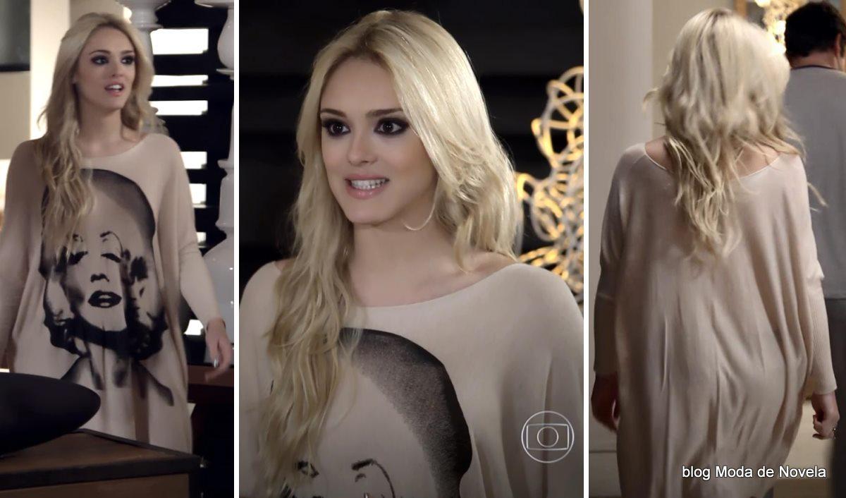 moda da novela Geração Brasil - look da Megan dia 29 de maio