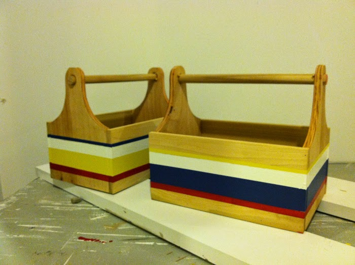 DIY tool box toy trug boys