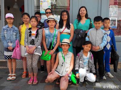 Dernière leçon de chinois pour les enfants