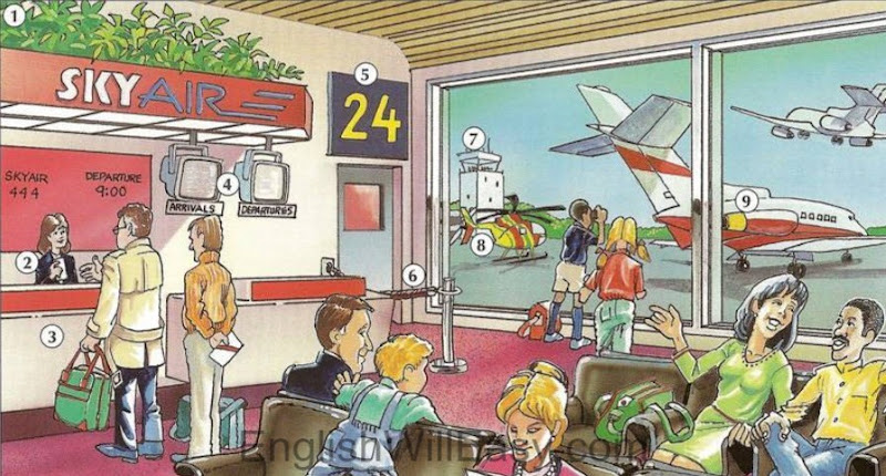 Picture Dictionary / Place / Airport