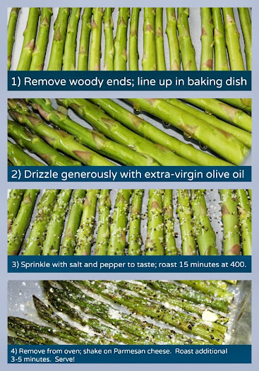 Parmesan Roasted Asparagus Recipe Tutorial