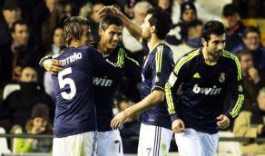 Goles R Madrid Valencia [5-0] 20 Enero Video Cristiano Higuain, DI maria