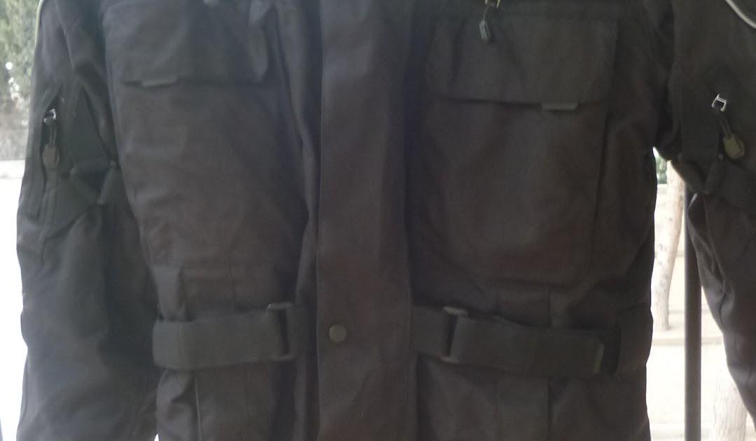 estilo de moda de 2019 en pies tiros de mejor selección GAS MOTOS: La chaqueta de cordura para moto del LIDL