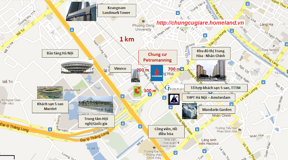 Bán chung cư Petromanning, ngay sát Big C, 1,2 tỷ/căn Chungcugiare.Petromanning.CauGiay