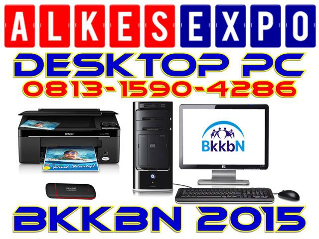 ALKES EXPO JAKARTA | DESKTOP PC BKKBN 2015