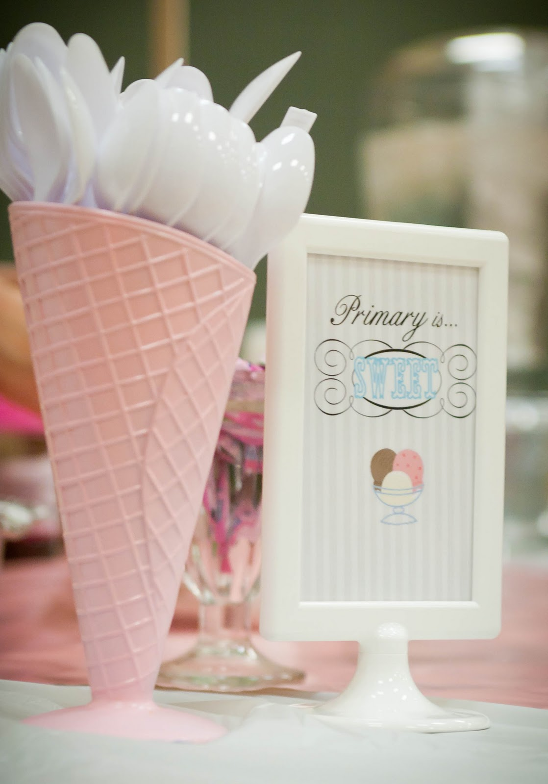January Decorating Ideas For Classroom ~ Primary ice cream social quot get the scoop on your teacher