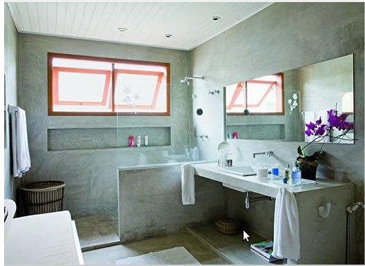 Construindo meu canto banheiro de alvenaria -> Banheiro Pequeno Com Banheira De Alvenaria