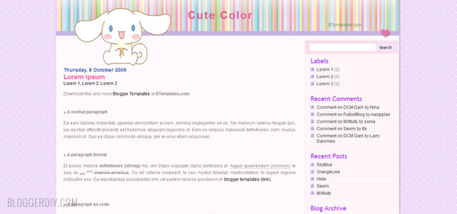 25  best free cute blogger templates 2015 free