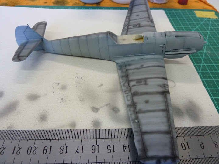 Bf-109 E-3 Tamiya 1/48 - Reforma pintura P1020466