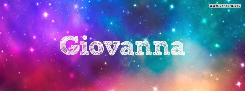 Capas para Facebook Giovanna