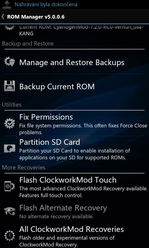 Rom manager Screenshot-1332395890000