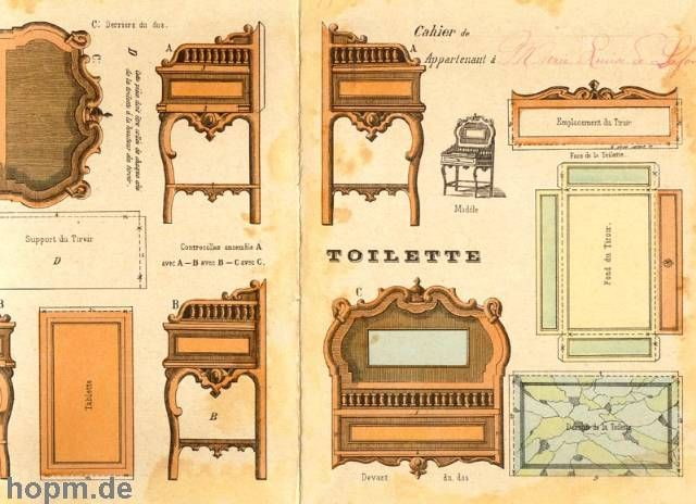 Muebles recortables