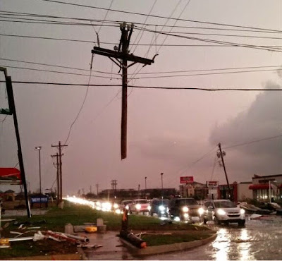 """GOD IS WITH US"" Teen Student Finds Hanging Cross Among Tornado Debris"