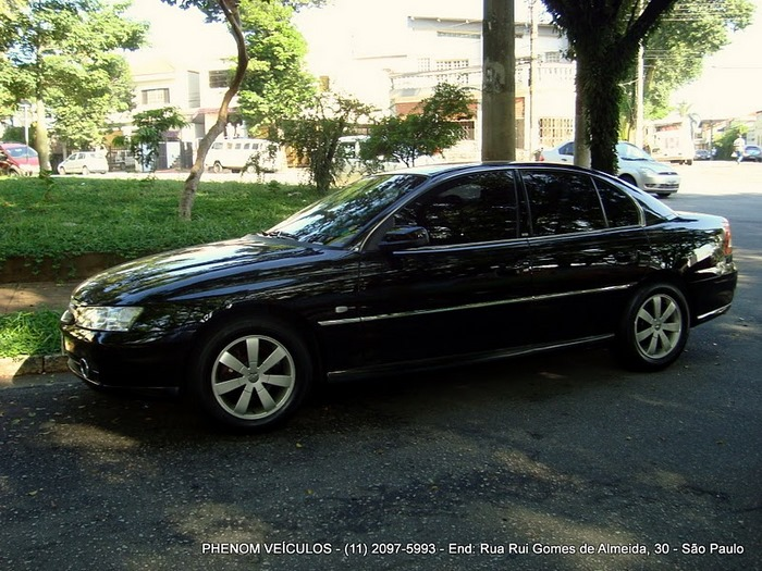 Chevrolet Omega 2004 Blindado - Preço R$ 33.500 - Lateral