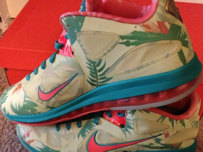 save off 26067 1142c Detailed Look at LeBron 9 Low 8220LeBronold Palmer8221 Player Exclusive ...