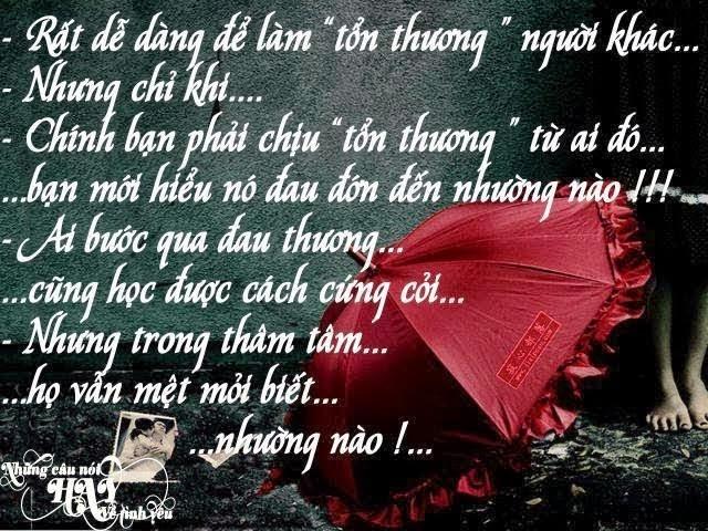 Hình Ảnh Những Câu Nói Cảm Động Về Tình Yêu Buồn Trên Facebook