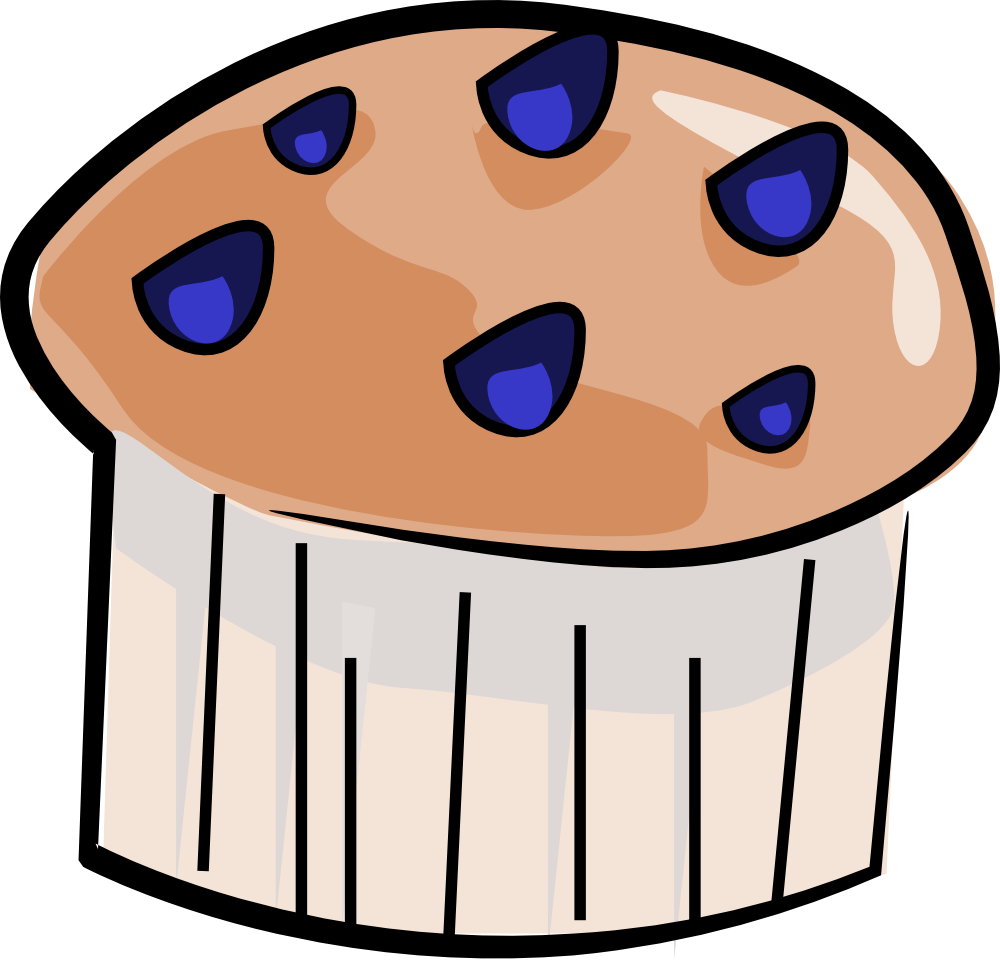 Blueberry Muffins Clipart Food Blueberry Muffin Clipart