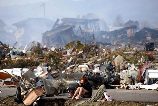 mujerenNatori 10 fotos sorprendentes del terremoto de Japón