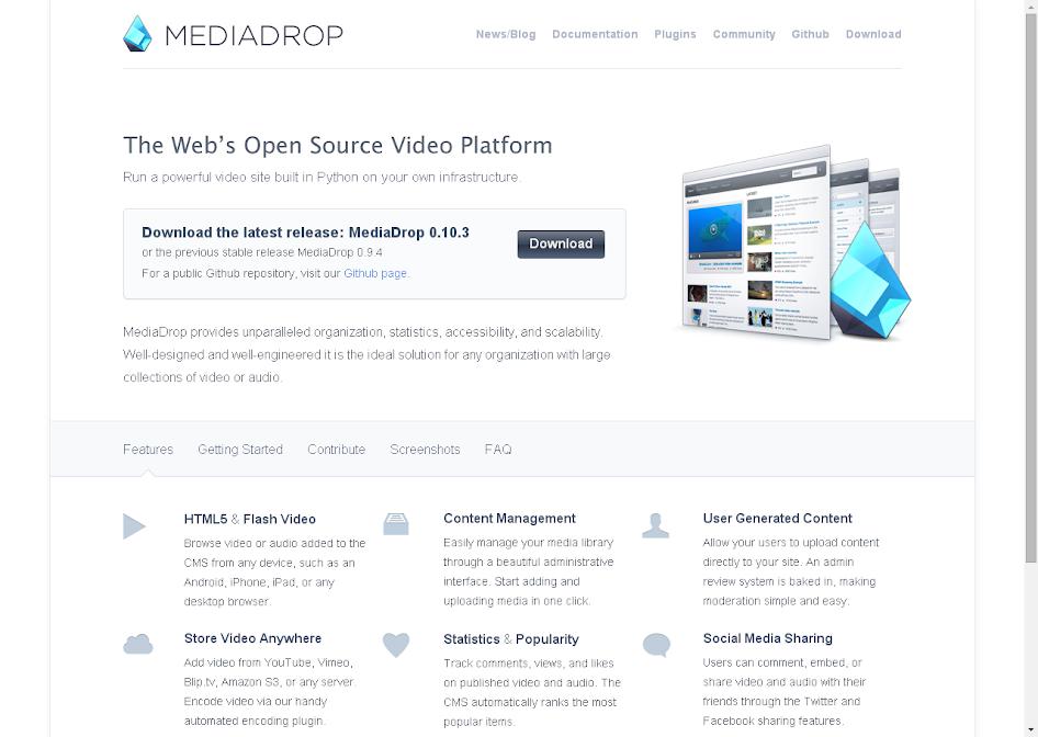 MediaDrop « Open Source Software