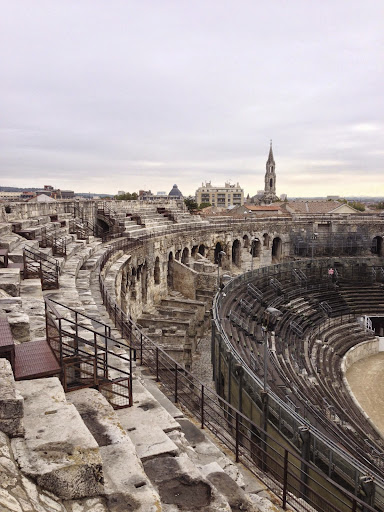 Roman arena in Nimes. From 100 Places in France Every Woman Should Go