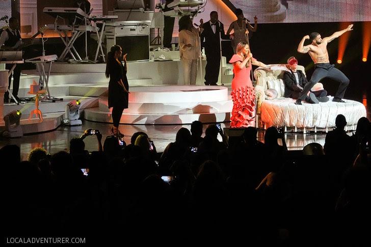 Mariah Carey in Las Vegas.