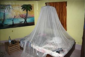Interior choza - Campement Dogon du fouta