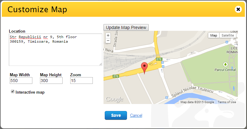 Can I Add A Google Interactive Map To Form FormBuilder - Satellite map of my location