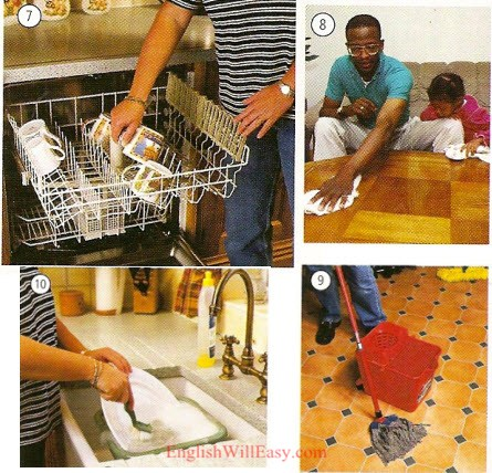 Home / Housework - Work/ Occupations - Photo Dictionary